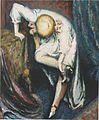 Johannessen - Mädchen beim Schuhe anziehen - 1922.jpeg
