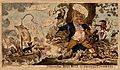 John Bull being attacked by many tiny figures representing E Wellcome V0050173.jpg
