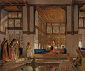 John Frederick Lewis - A Lady Receiving Visitors (The Reception) - Google Art Project.jpg