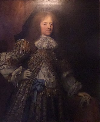 John Granville, 1st Earl of Bath - John Granville, 1st Earl of Bath, portrait in Dunrobin Castle in Sutherland, Scotland, a seat of the Leveson-Gower family, Dukes of Sutherland, descendants of the sitter