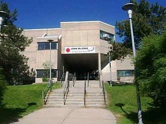 Eglinton East - John McCrae Public School is one of several public elementary schools situated in the neighbourhood.