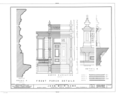 John Muir House, Alhambra Boulevard, Martinez, Contra Costa County, CA HABS CAL,7-MART,1- (sheet 9 of 13).png