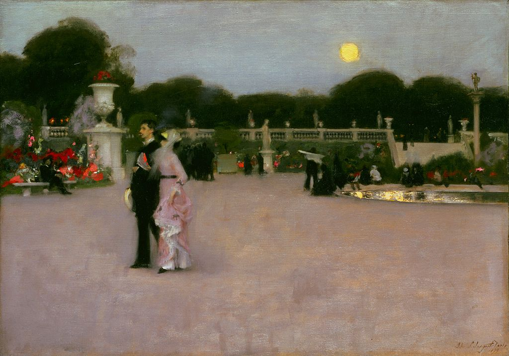 John Singer Sargent, American (active London, Florence, and Paris) - In the Luxembourg Gardens - Google Art Project.jpg