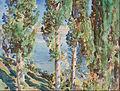 John Singer Sargent - Corfu- Cypresses - Google Art Project.jpg