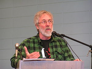 John Zerzan SF bookfair lecture 2010.jpg