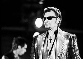 Johnny Hallyday in 2003.