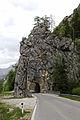 Johnsbach - Nationalpark Gesäuse - Tunnel und Brücke über den Johnsbach.jpg