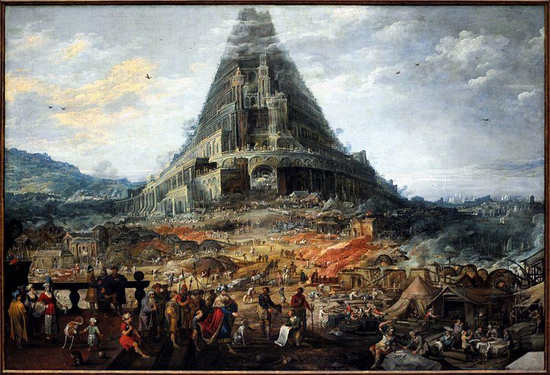 Joos De Momper - La tour de Babel (by PaulineM)
