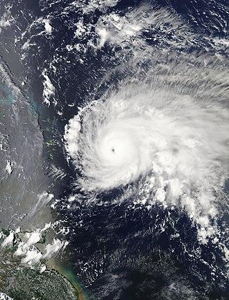 Hurricane Jose (2017) - Image: Jose 2017 09 08 1745Z
