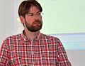 Journée Wikipédia, objet scientifique 2013 Robert Viseur2.JPG