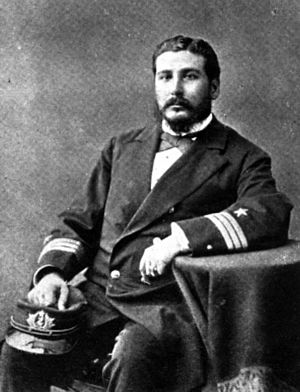 Expulsion of Chileans from Bolivia and Peru in 1879 - Image: Juan Jose Latorre. Comandante