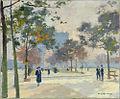 Jules Ernest Renoux - L'Arc de Triomphe en automne.jpg