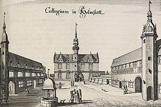 University of Helmstedt - University of Helmstedt in the 17th century