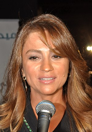 Julia Boutros - Julie Boutros interviewed in Beirut Holidays Festival in August 23, 2012