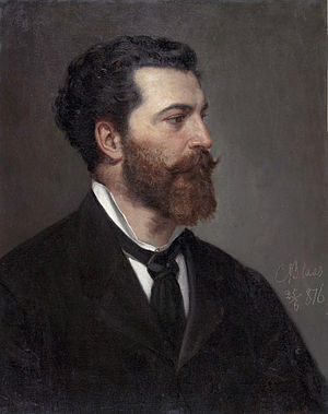 Julius von Blaas - Julius von Blaas, by his father Karl von Blaas (1815-1894)