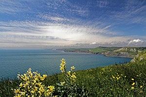 Jurassic Coast - The Jurassic Coast west of St Aldhelm's Head