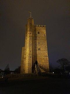 Kärnan Medieval tower in Helsingborg