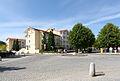 Kühlungsborn, Strandstraße, Blick über den Kreisverkehr (1).JPG