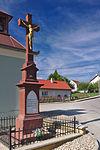 Kříž u zvonice, Míchov, okres Blansko.jpg