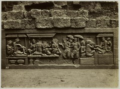 KITLV 28051 - Kassian Céphas - Relief of the hidden base of Borobudur - 1890-1891.tif