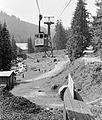 Kabinos kötélpálya a Kasprowy csúcshoz, az alsó végállomás. Fortepan 8374.jpg