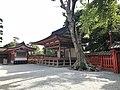 Kaguraden Hall of Kashii Shrine.jpg