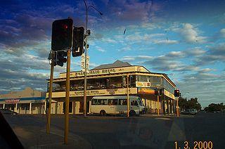 Kalgoorlie Hotel Hotel on Hannan Street, Kalgoorlie, Western Australia