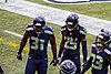 Kam Chancellor, Richard Sherman, Jeron Johnson 2014.jpg