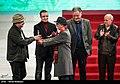 Kamboziya Partovi and Saeed Agakhani in 36th Fajr International Film Festival 1.jpg