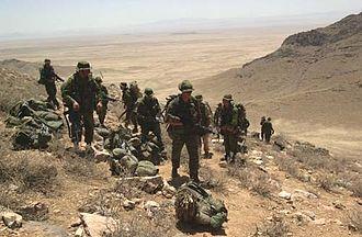 Canada in the War in Afghanistan - Image: Kanadische Soldaten Afghanistan