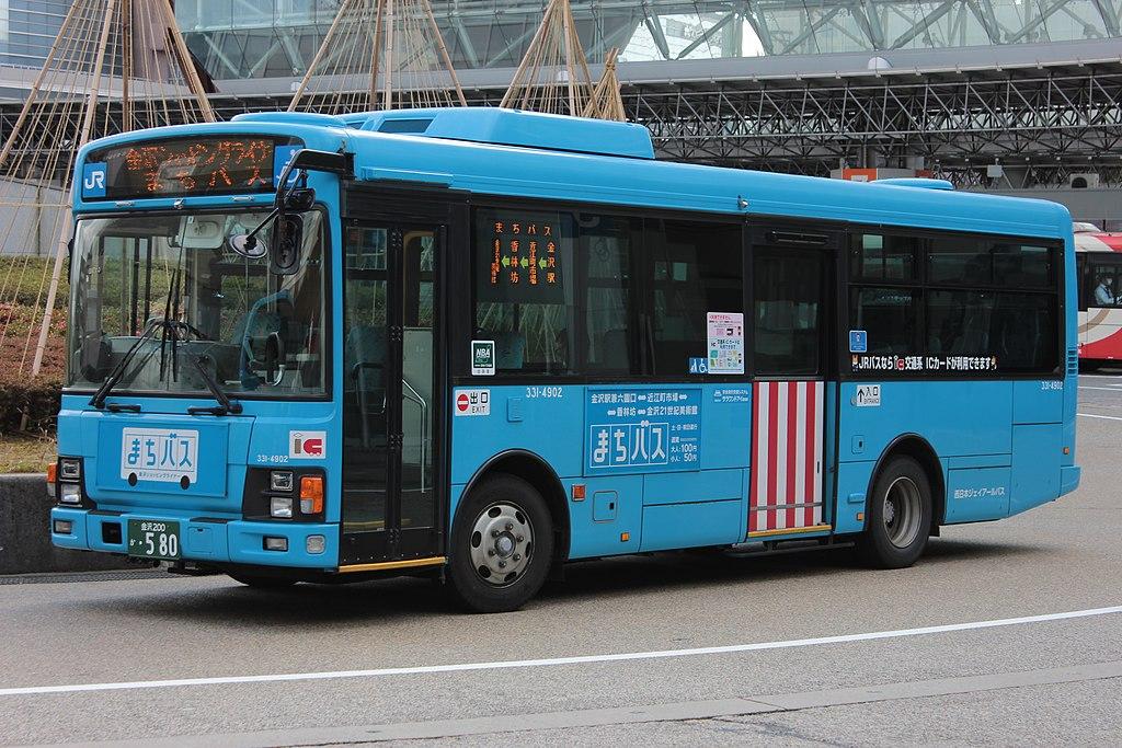 Kanazawa Machi Bus 331-4902