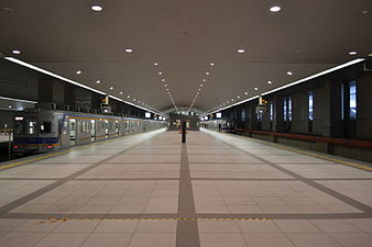 Kansai Airport Station platform 2.JPG