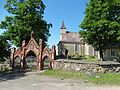 Kantaučių bažnyčia, vartai.JPG