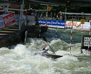 Canoe slalom - Canoe slalom in Augsburg, Germany