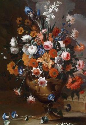 Carel de Vogelaer - Image: Karel van Vogelaer, Blumenstillleben
