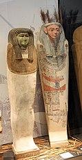 Karlsruhe, Badisches Landesmuseum, ägyptische Mumien.JPG