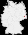 Karte Hoyerswerda in Deutschland.png