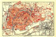 Karte Strassburg MK1888