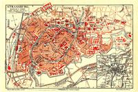 מפת העיר העתיקה מ-1888