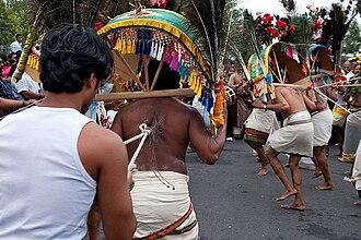 Kavadi Attam - Image: Kavadi dancer 6039398