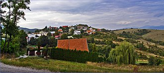 Kavečany - Image: Kavečany panoramio