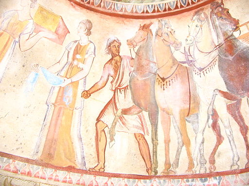 Kazanlak-tomb-fresco-1