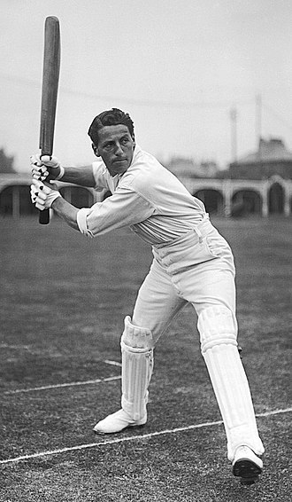 Kent County Cricket Club in 1906 - Kenneth Hutchings who led Kent in run scoring in 1906