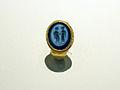 Keszthely-Fenékpuszta (Castellum) - Golden ring with intaglio, Hungary.jpg