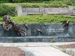 Μνημείο για τον Τζιμπράν στην Ουάσιγκτον.
