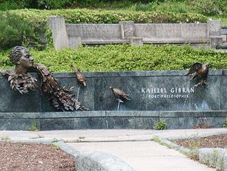 Kahlil Gibran - Image: Khalil Gibran Memorial 01