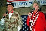 King Fahd International Airport - USO Show Bob Hope Betty White.JPG