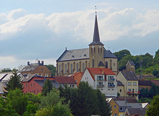 Town in Grevenmacher, Grand Duchy of Luxembourg