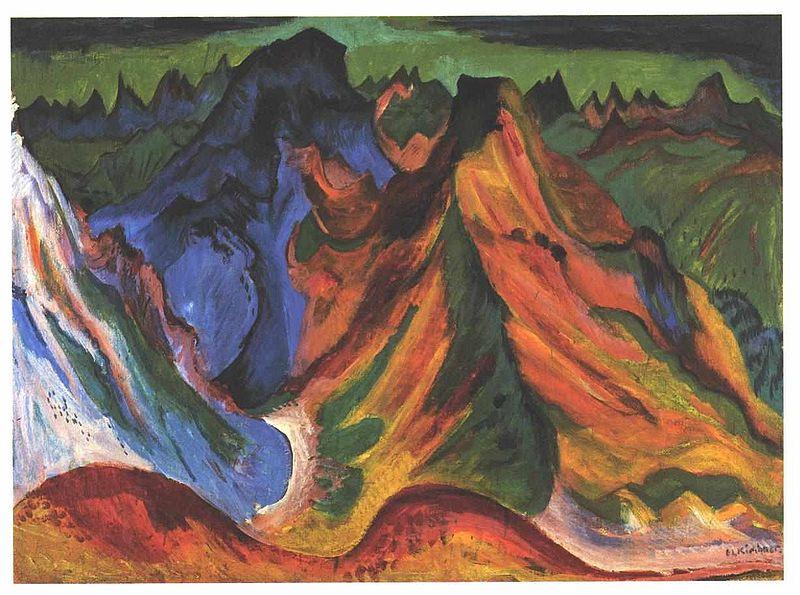 File:Kirchner - Der Berg.jpg