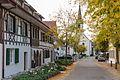 Kirchstrasse und Kirche GottliebenIMG 2749.jpg